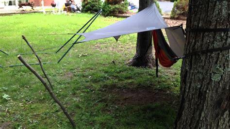 Hammock Rainfly by Eno Hammock With Rainfly Setup