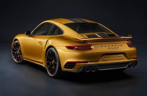 porsche porsche 2018 porsche 911 turbo s exclusive series delivers 607 hp