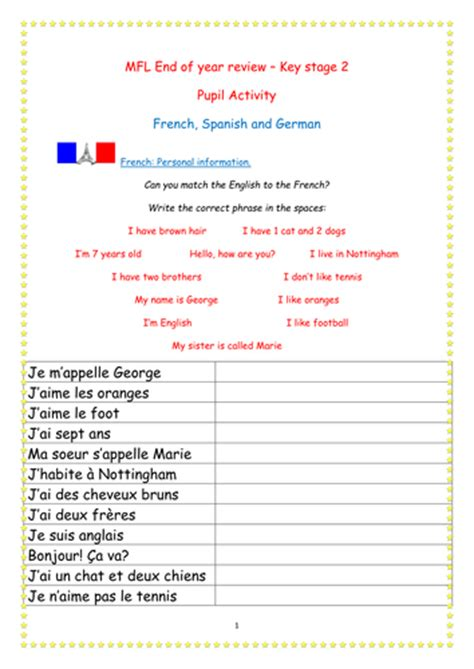 year 8 daily routine activities reflexive verbs by