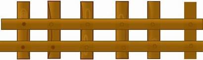 Fence Clipart Barn Pagar Farm Clip Transparent