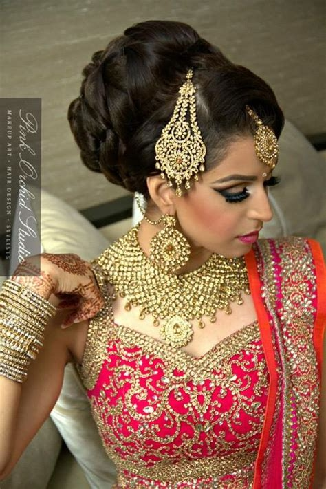 indian wedding hairstyles  brides