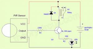 Wiring Diagram Motion Sensor