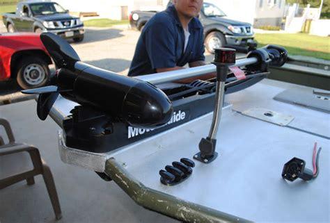 Trolling Motor Size For Jon Boat mounting bow trolling motor on 17 jon boat the hull
