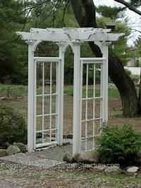 garden trellis plans Garden Arbor Plans AC003 - The Arts and Crafts Garden ...