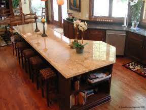 kitchen island with granite countertop hardwoods
