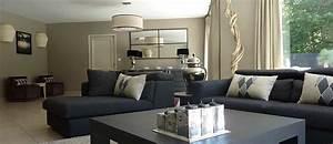 Decoration Mur Interieur Salon : deco interieur cuisine salon avec des id es ~ Dailycaller-alerts.com Idées de Décoration