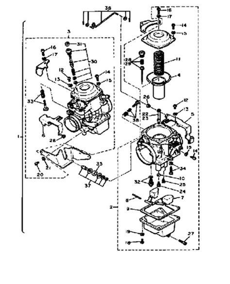 Yamaha Virago Carburetor Diagram