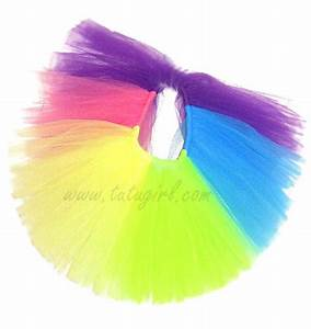 Rainbow Tutu in Bright Colors Tutu for Babies Toddlers
