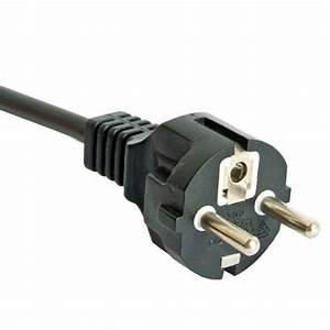 Europe Power Cord 16 Amp 3 Wire Cee7  7 Schuko Straight
