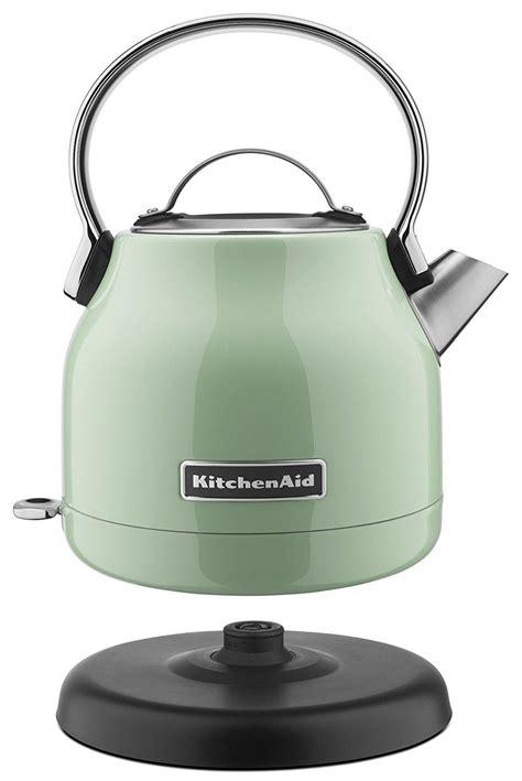 Kettle Kitchen Uk by Kitchenaid 1 25 Liter Electric Kettle Pistachio Best Offer
