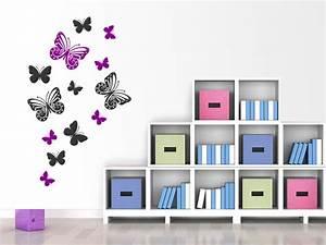 Wandtattoo Kinderzimmer Schmetterlinge : wandtattoo traumhafte schmetterlinge bei ~ Sanjose-hotels-ca.com Haus und Dekorationen