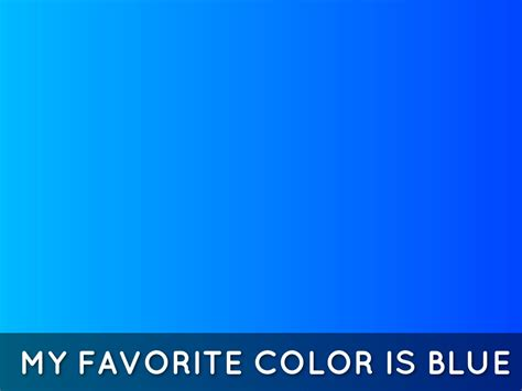 favorite color blue the turtle by kevin