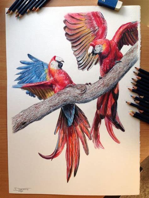 creative  simple color pencil drawings ideas