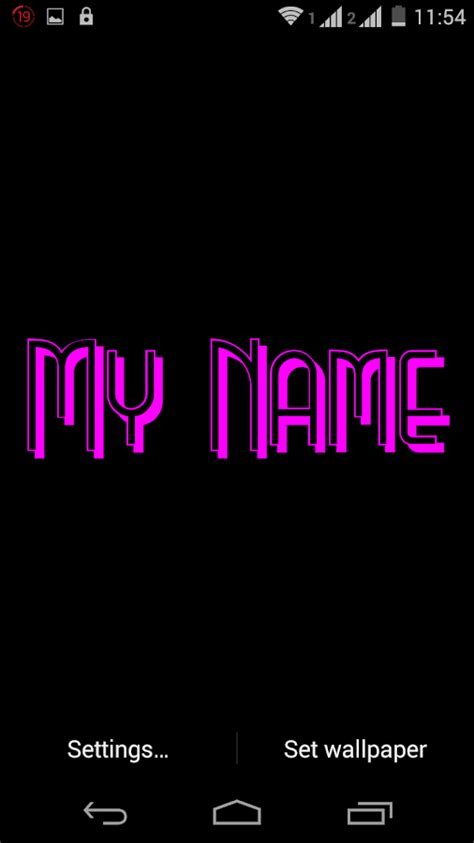 My Name Animation Wallpaper - my name 3d live wallpaper android apps on play