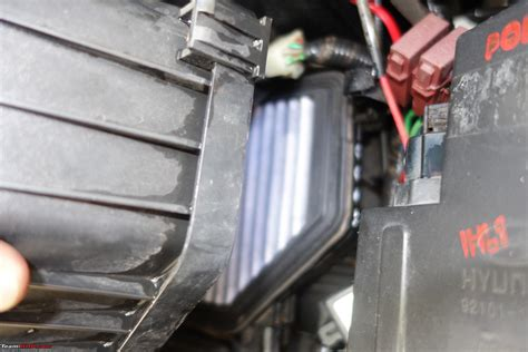 diy engine oil filter change   hyundai verna crdi