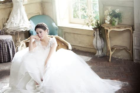 Korean Wedding Gown Dress Korean Wedding Photo Ido