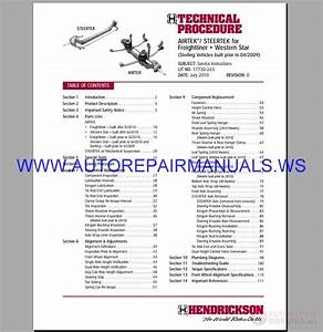Freightliner S2 Chassis Operator U0026 39 S  U0026 Maintenance Manual 2007