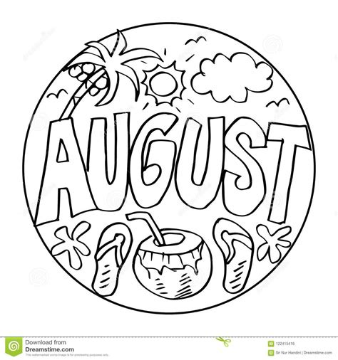 august coloring pages goodmorningwishes