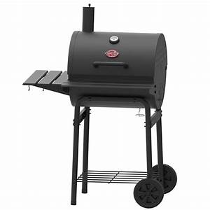 Shop Char-Griller 23-in Barrel Charcoal Grill at Lowes.com
