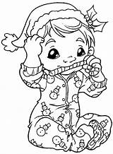 Coloring Digi Enfants Printable Dibujos Coloriage Adult Colorear Noel Coloriages Crafts Stempler Ec0 Morning Stamps Kleuren Bladzijden Boek Books Drawing sketch template