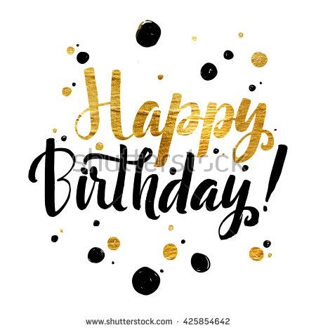 happy birthday lettering stock images royalty  images