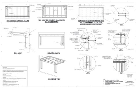 awning details entrance overhead canopy details commercial metal canopy drawings cantilevered