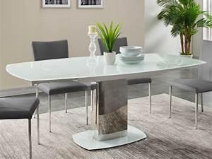 Esstisch Glas Weiß : esstisch glas talicia ausziehbar wei kaufen bei kauf ~ Eleganceandgraceweddings.com Haus und Dekorationen
