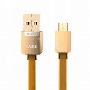 Original REMAX 2.1A Golden Noodle Style Micro USB Charging ...