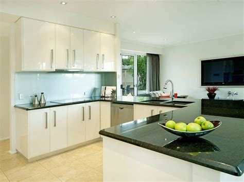 shaped kitchen designs  style page