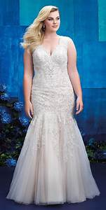 Allure women spring 2017 plus size wedding dresses world for Wedding dresses 2017 plus size