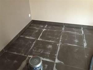 sol beton cire beton cire sur carrelage sols techniques With beton ciré carrelage sol