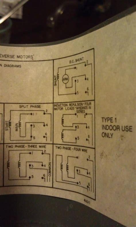 Assistance Wiring Dayton Drum Switch