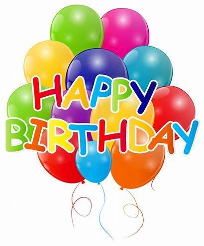 Birthday Balloons Happy Clip Transparent Pngio Bunch