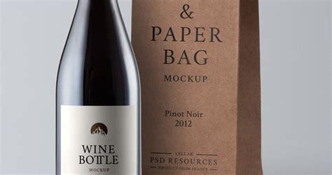 psd pinot noir bottle mockup psd mock  templates pixeden