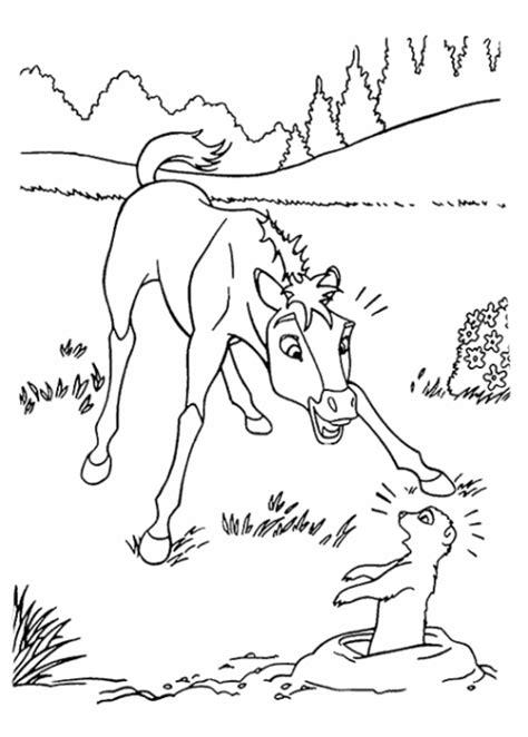 Kleurplaat Paarden Spirit by Kleurplaat Paardenhoofd Ritter Mit Flagge 2 Ausmalbild