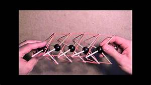 A Tensegrity Spine Model