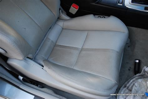 effectively clean  leather seats  steam