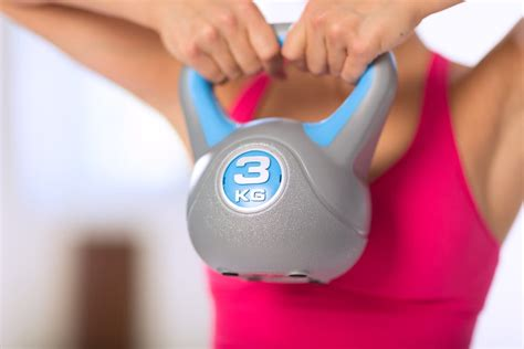 kettlebell workouts weight lose fitness safety bell kettle trendy shutterstock popsugar speak fat exercises session personal training burn most workout