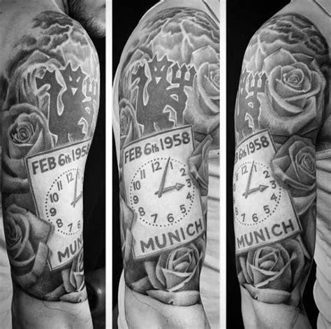40 Manchester United Tattoo Designs For Men - Soccer Ideas ...