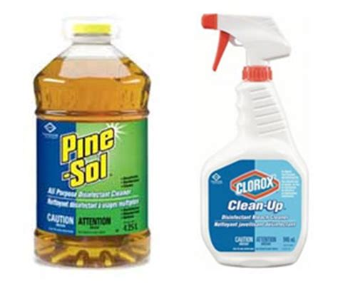 Disinfectant Cleaners Clorox   Cleaning supplies