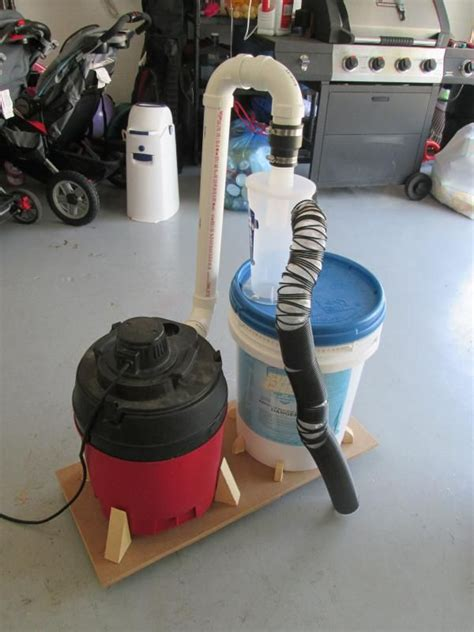basic dust deputy diy collection system  kevinbradshaw