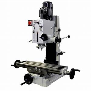 Gear Benchtop Milling Machine Mill Drill - Bolton Tools