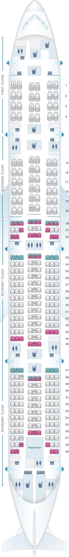 plan siege boeing 777 300er plan de cabine saudi arabian airlines boeing b777 300er