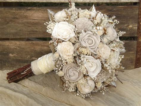 gorgeous wood flower bouquets     mid