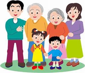 幸福一家人合影矢量素材 矢量素材 中国素材天下