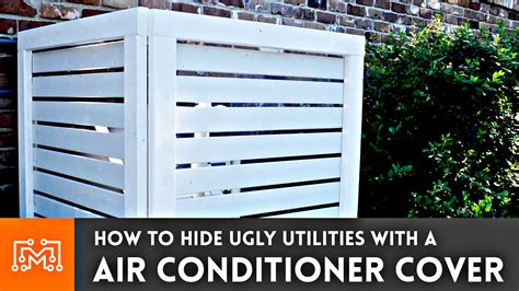 air conditioner cover fence