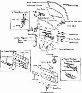 Front Door - Toyota Tercel 1996 Repair