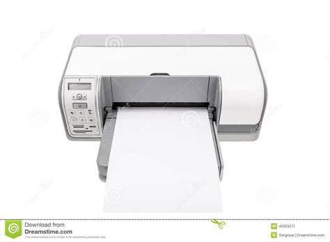 imprimante de bureau imprimante de bureau avec un papier propre pour le texte
