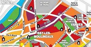 Immobilier En Ile-de-france   La Carte Des Prix D U0026 39 Issy-les-moulineaux Et De Vanves