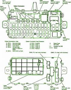 1991 Honda Civic Si Fuse Box Diagram  U2013 Circuit Wiring Diagrams